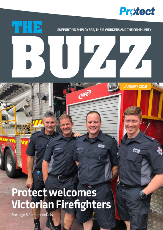Protect welcomes Victorian firefighters