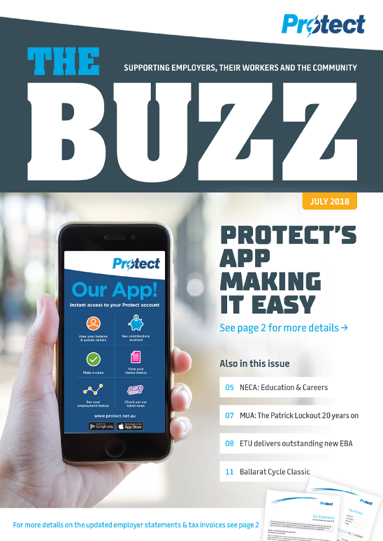 Protect's App making it easy
